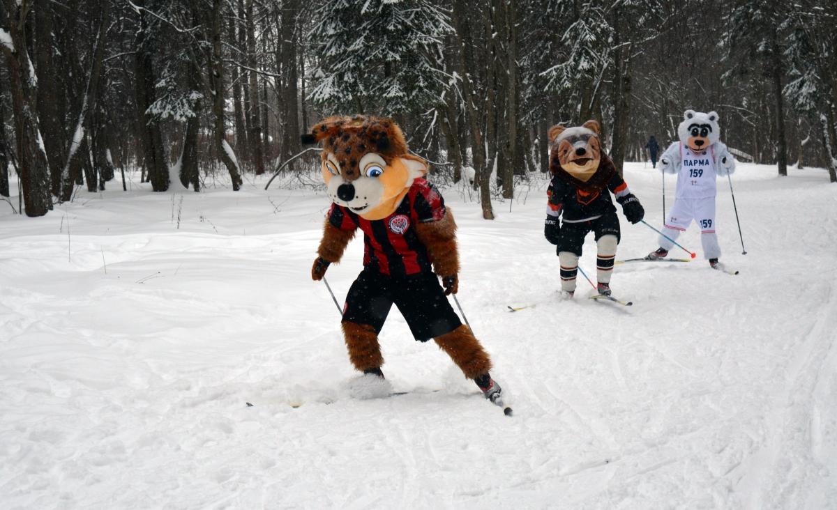 Рысёнок Макар зовёт на «Лыжню России»