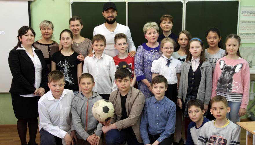 Дарко Бодул пообщался с пермскими школьниками на немецком языке