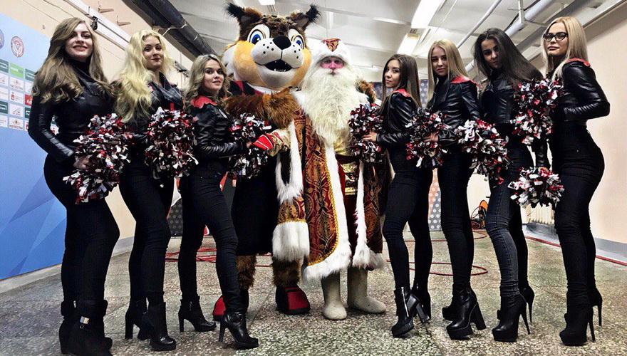 Каша, чай, Дед Мороз, детские рисунки и другие активности на матче «Амкар» – «Краснодар»